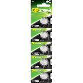 CR2032, 3V, 210mAh, 3.2 x 20mm - pack of 5