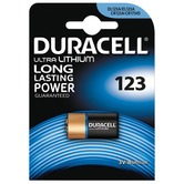 Duracell CR123 3 volt Lithium Battery