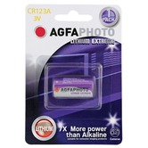 AGFA PHOTO Lithium Cell CR123A-C1 (Card Of One)