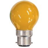 Amber 15W BC  /B22D Carnival Festoon Lamp