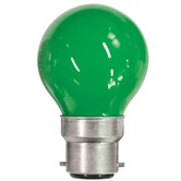 Green 15W BC / B22D Carnival Festoon Lamp
