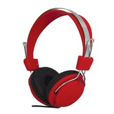 SoundLAB Fashion Colours Red Stereo Headphones