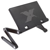 NJS Adjustable Laptop/Tablet Stand with USB fans and Mouse Holder