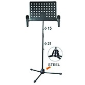 Black Boom Microphone and Sheet Music stand