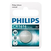 Blister of 1 CR1616 Philips Lithium Coin Cell Battery