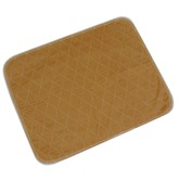 Brown Eco-friendly Washable Chair or Bed Pad