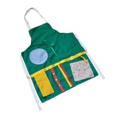 Activity Apron with zips, pockets and buttons