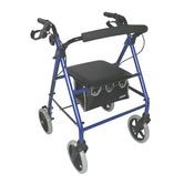 Blue Lightweight Rollator