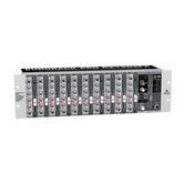 12 Channel Behringer Audio Mixer, Eurorack Pro RX1202FX