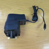 9V DC 1.3mm x 10mm DC plug, 1A EU/UK power supply (WAP-7D)