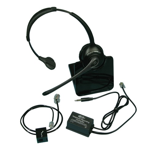 Office telephone pack with wireless headset for phonak roger pen connevans - Office phone wireless headset ...