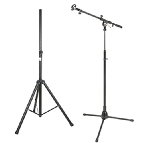 SoundRanger Compact4 stand & Handheld Radio Mic stand set