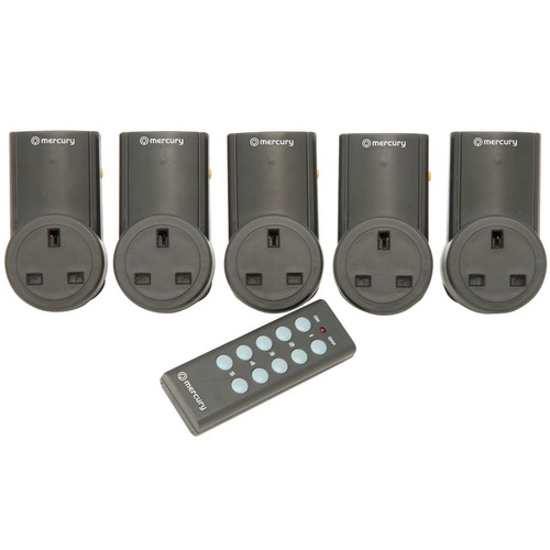 5 x Remote control adapters and remote controller