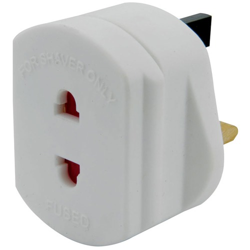 Electric Shaver Adaptor for UK mains