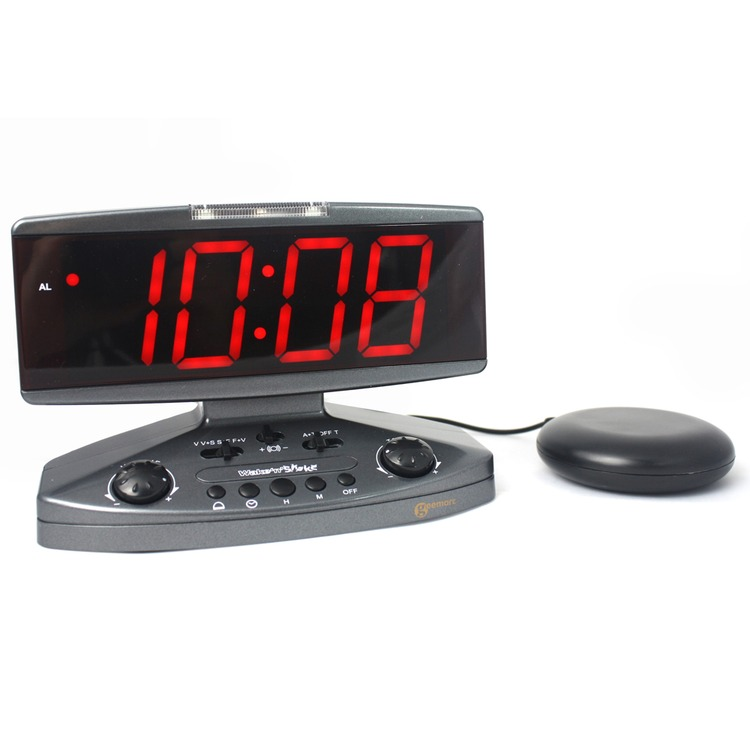 Wake 39 N 39 Shake Vibrating Alarm Clock Connevans
