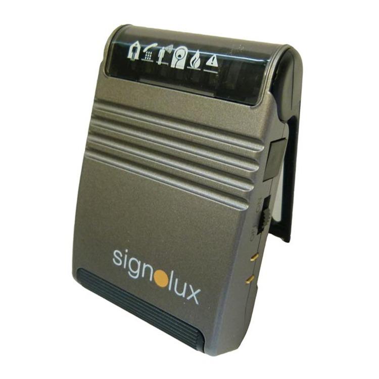 signolux portable vibrating pager deaf equipment. Black Bedroom Furniture Sets. Home Design Ideas