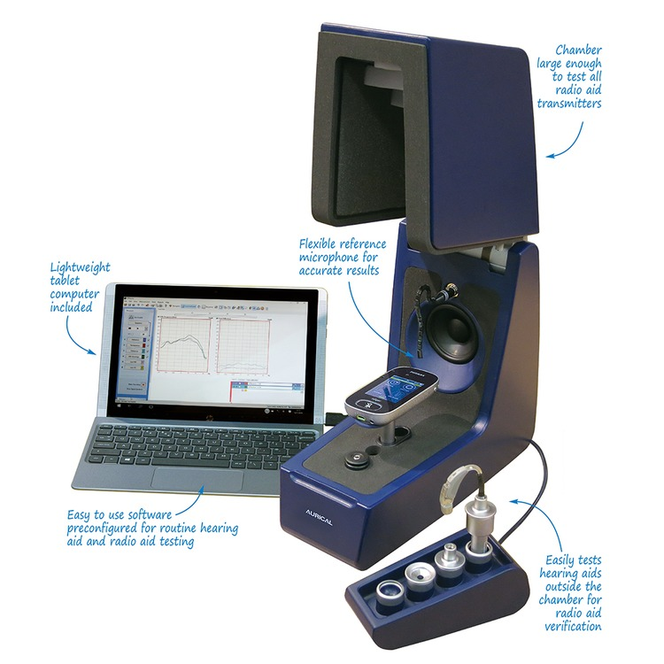 Aurical Hit Carry Case And Tablet Computer With Otosuite