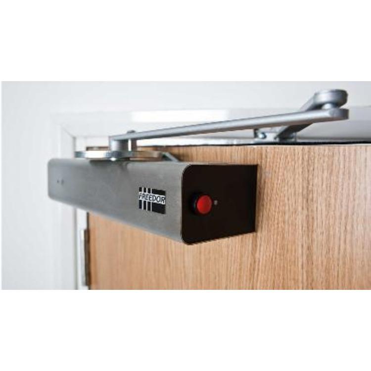 freedor wireless fire door closer connevans. Black Bedroom Furniture Sets. Home Design Ideas