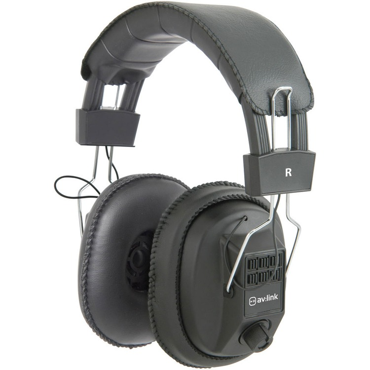 Mono Stereo Headphones With Volume Control Connevans