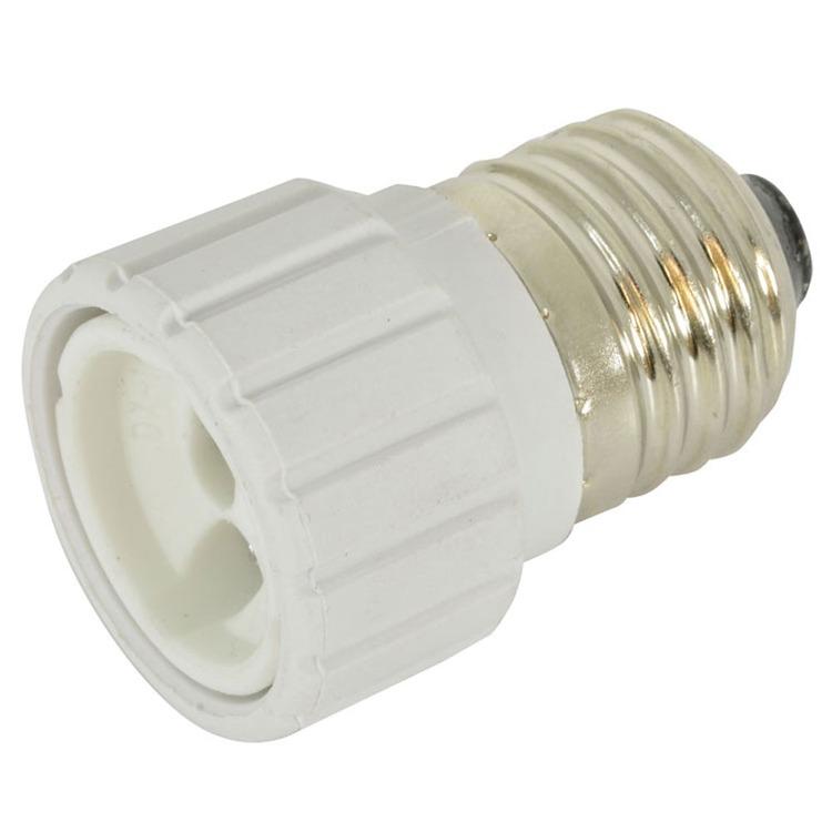 Lamp socket converter screw fitting e to a gu