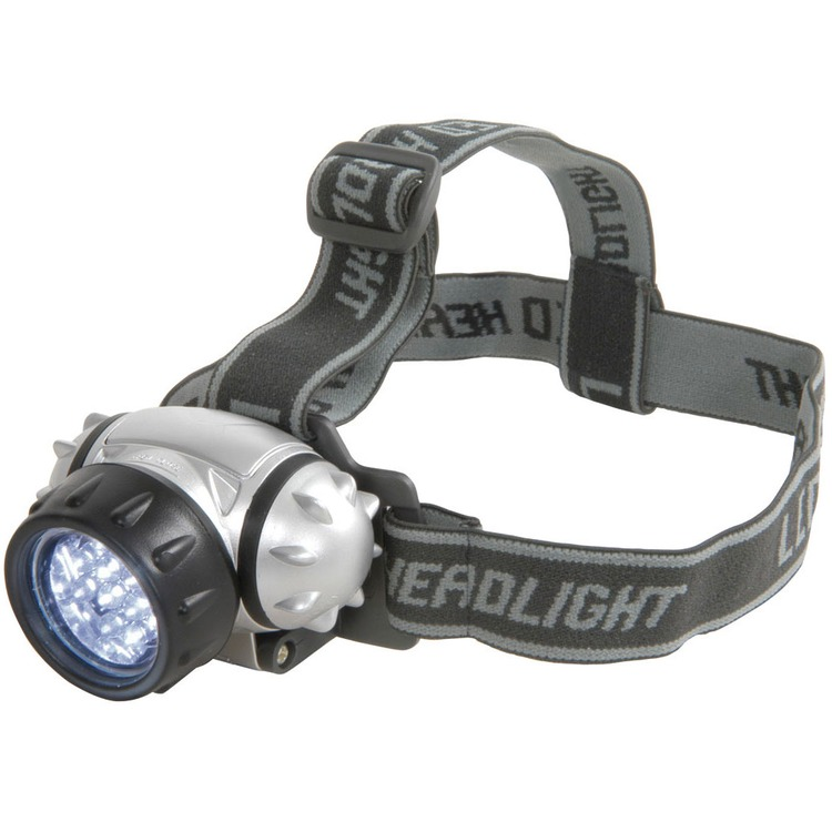 12 Led Headlight With Adjustable Headstrap Connevans