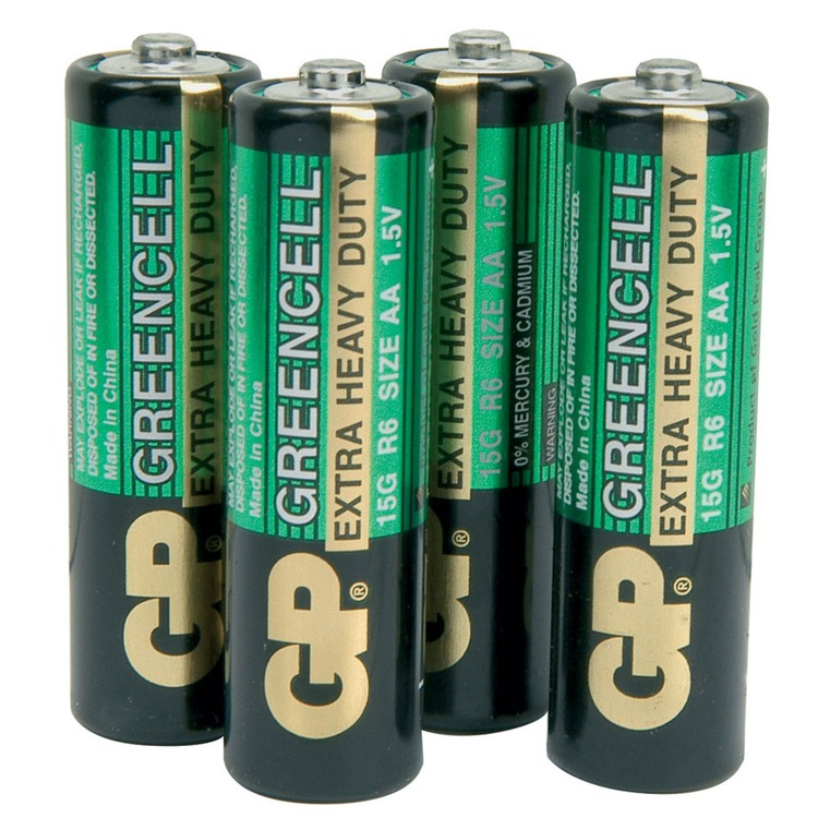 zinc chloride batteries aa 1 5v packed 4 per blister connevans. Black Bedroom Furniture Sets. Home Design Ideas