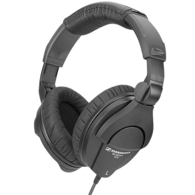 sennheiser hd 280 pro closed back circumaural headphones with mm stereo jack adaptor. Black Bedroom Furniture Sets. Home Design Ideas