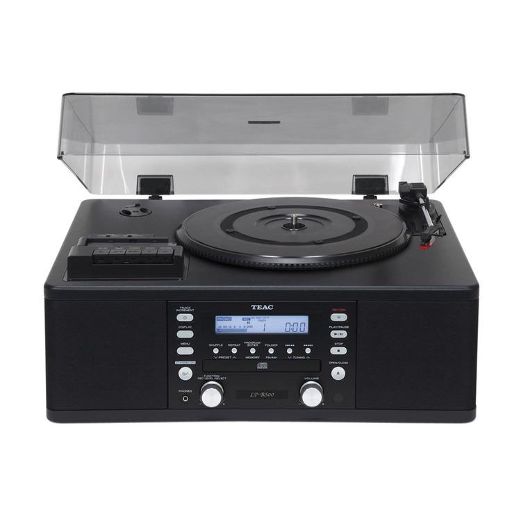 Teac Lpr500 Turntable With Cd Burner Cassette Tape Player