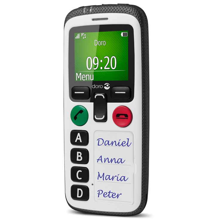 Doro Secure 580 Gsm Simple Mobile Phone Connevans