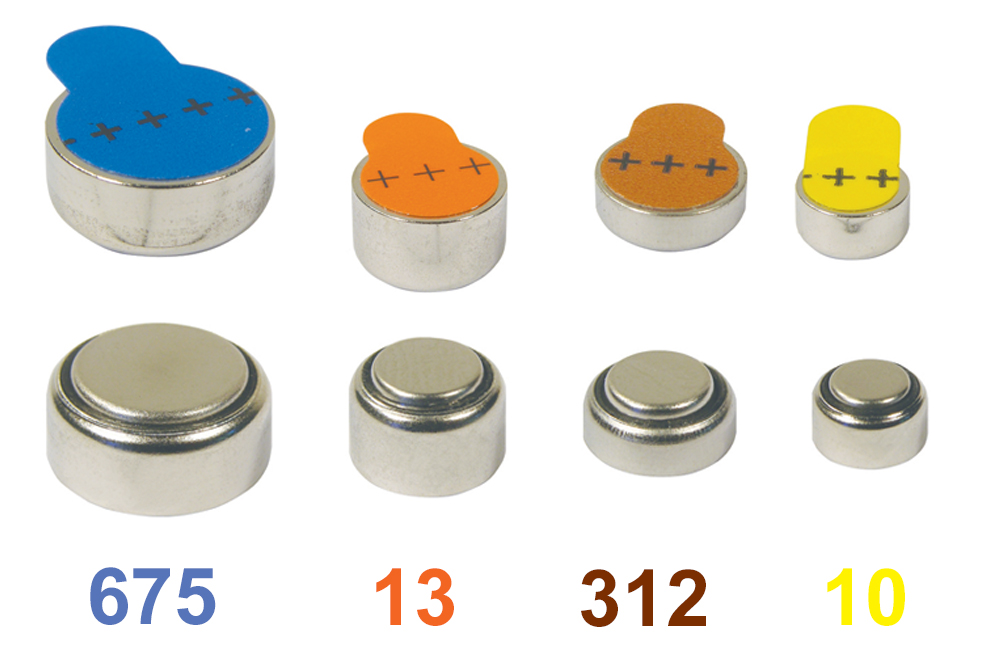 Hearing Aid Batteries Zinc Air Connevans