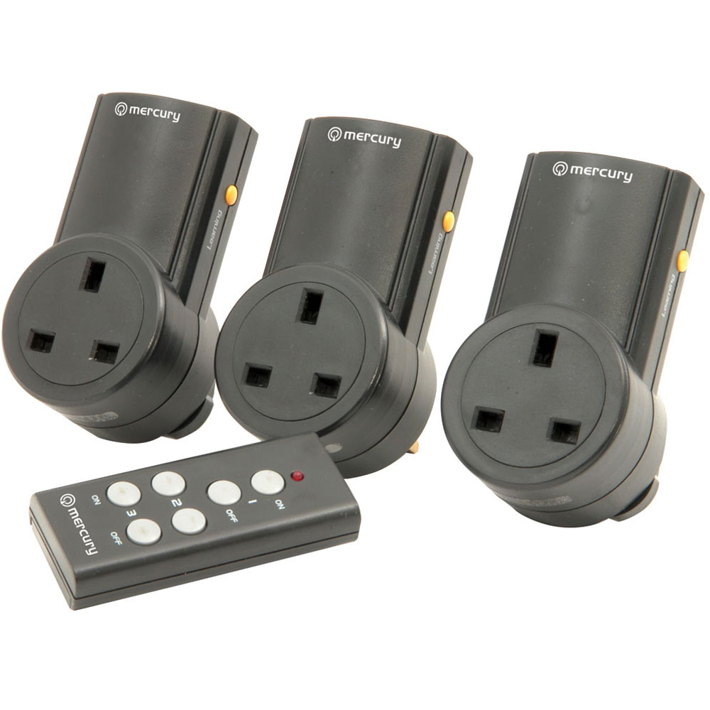 Mains Remote Control Adapters And Controller Connevans About 3way Digital Wireless Light Lamp On Off Switch Image 3 X