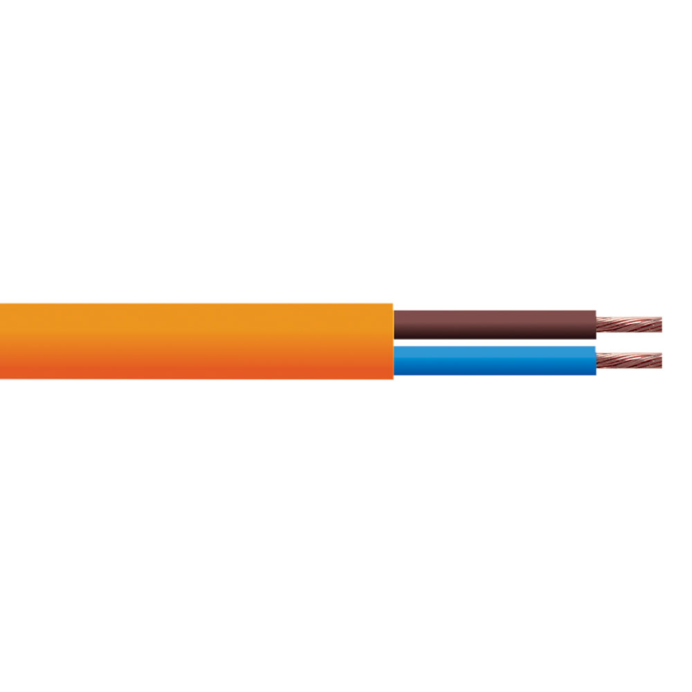 10 Amp Mains Cable Connevans Leads Direct Wiring 25 M Coil Of Round Profile Used For Indoor Applications In The Connection Double Insulated Light Electrical Equipment