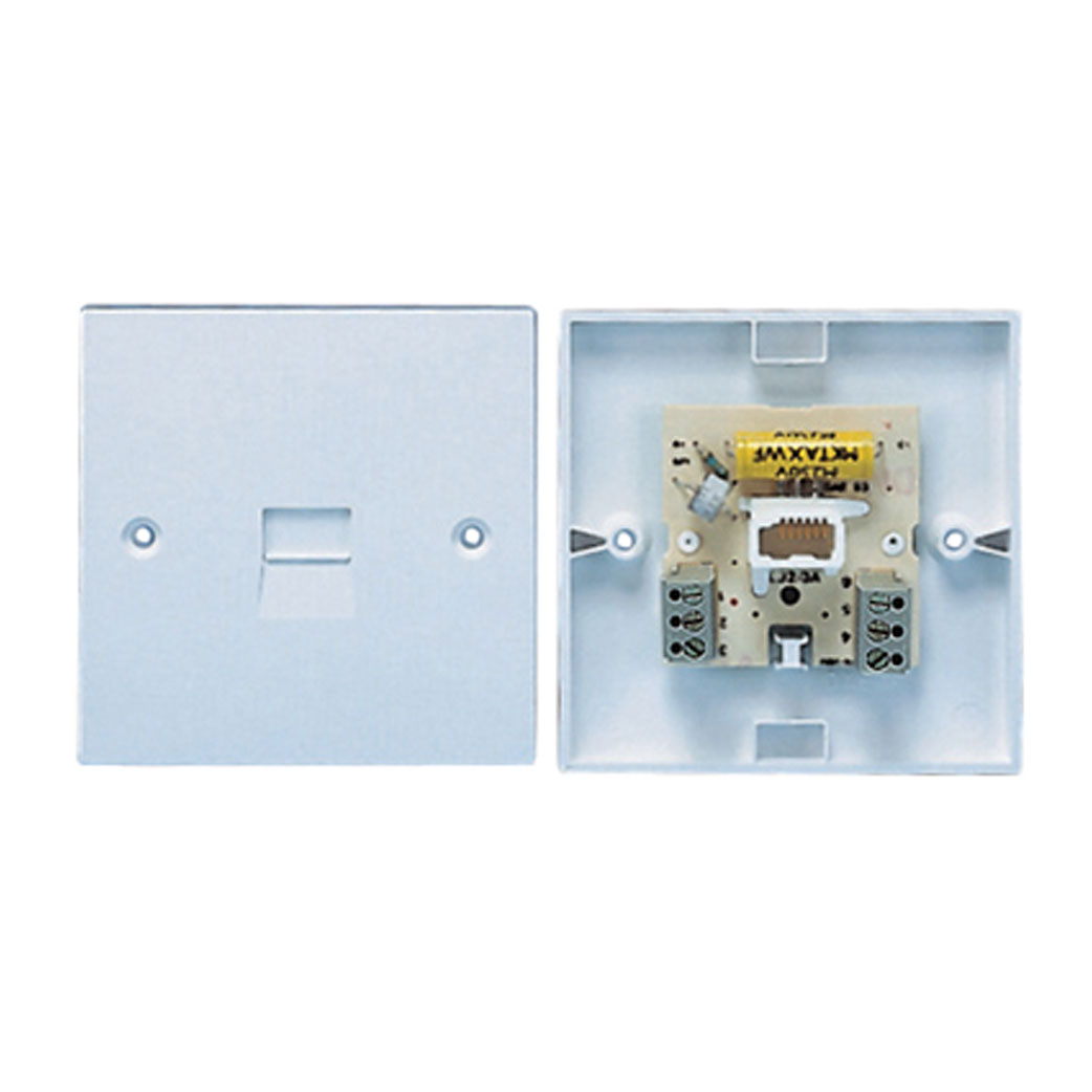 Telephone Wiring Accessories Connevans Master Socket Flush Mounted 3 4a With Screw Connections Fits Standard Uk Back Box